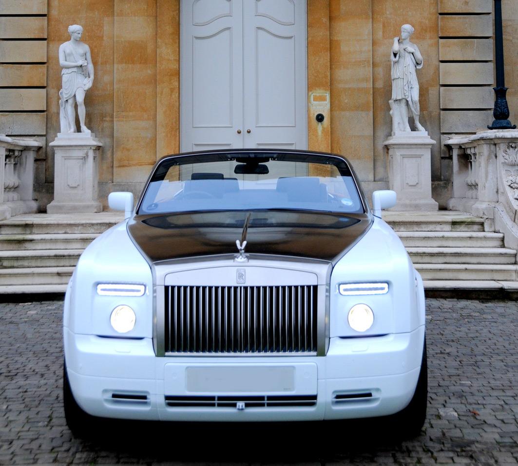 Rolls Royce Phantom Drophead Chauffeur Driven